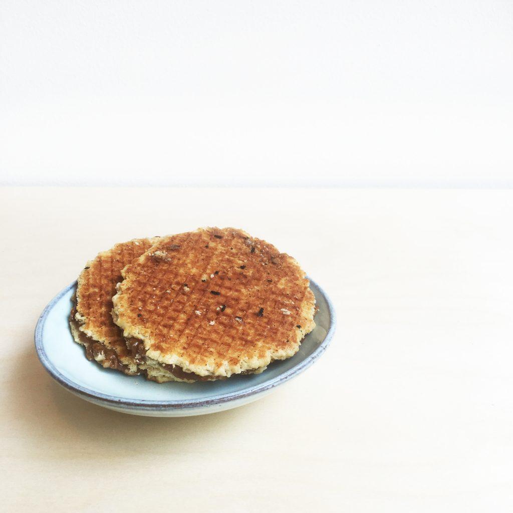 Handmade stroopwafel